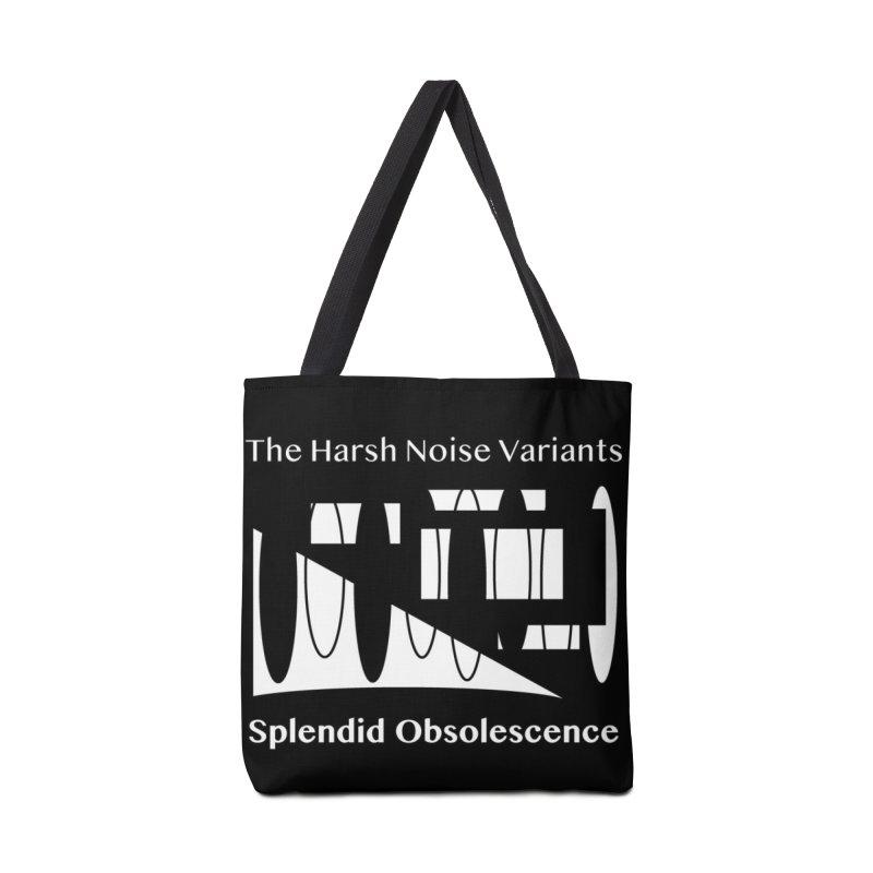 The Harsh Noise Variants Album Cover - Splendid Obsolescence Accessories Tote Bag Bag by Splendid Obsolescence