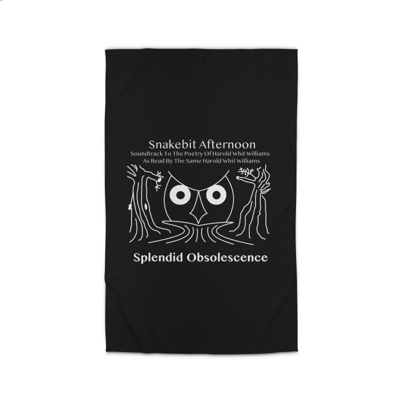 Snakebit Afternoon Album Cover - Splendid Obsolescence and Harold Whit Williams Home Rug by Splendid Obsolescence