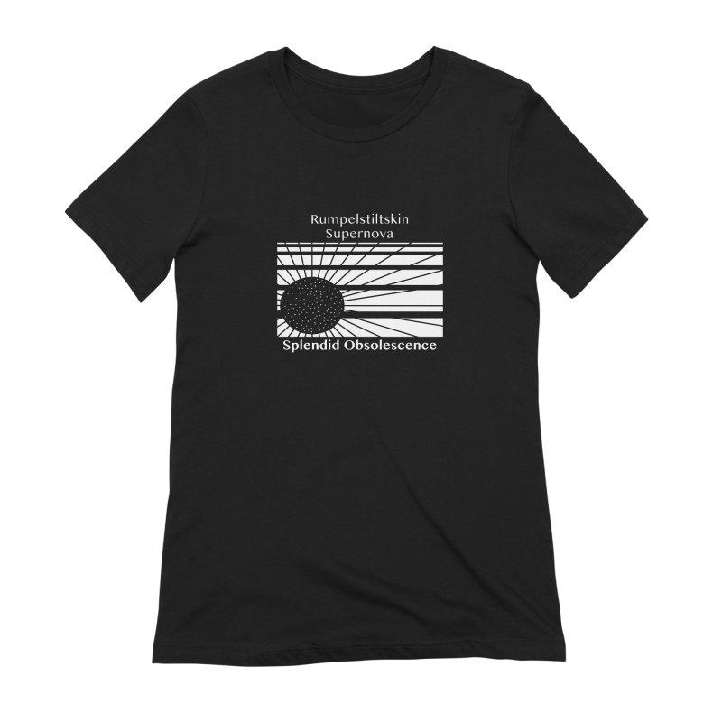 Rumpelstiltskin Supernova Album Cover - Splendid Obsolescence Women's T-Shirt by Splendid Obsolescence