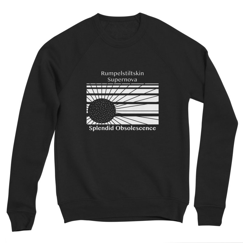 Rumpelstiltskin Supernova Album Cover - Splendid Obsolescence Women's Sweatshirt by Splendid Obsolescence