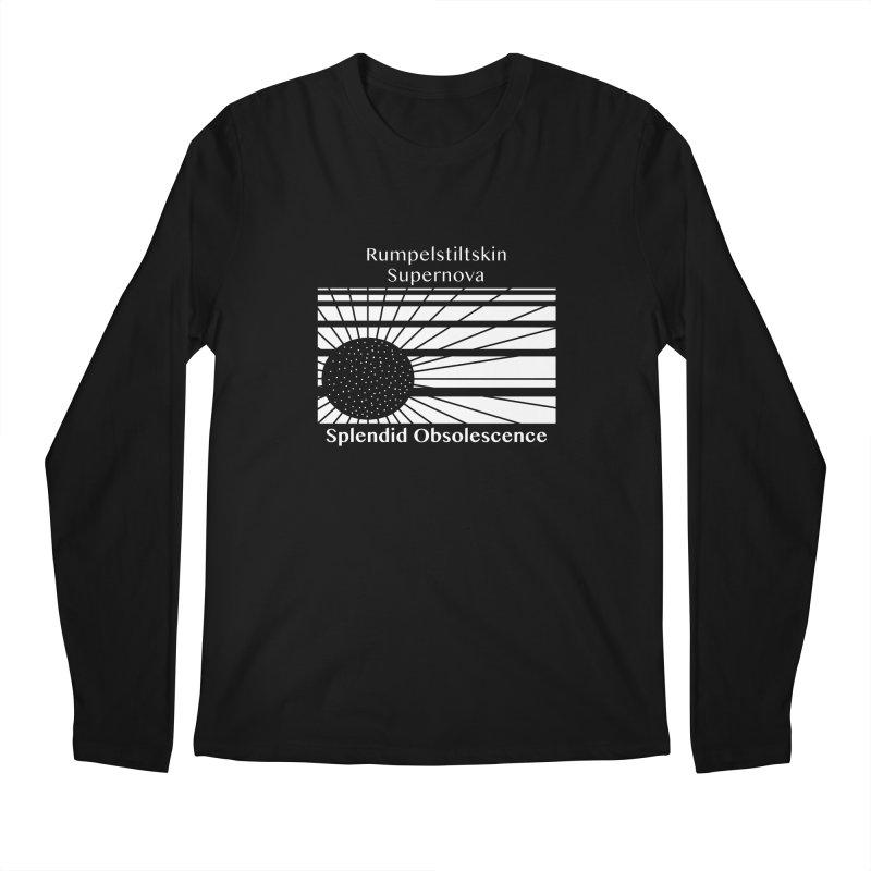 Rumpelstiltskin Supernova Album Cover - Splendid Obsolescence Men's Longsleeve T-Shirt by Splendid Obsolescence