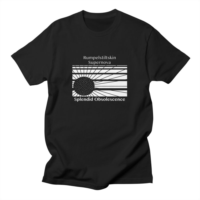 Rumpelstiltskin Supernova Album Cover - Splendid Obsolescence Men's T-Shirt by Splendid Obsolescence