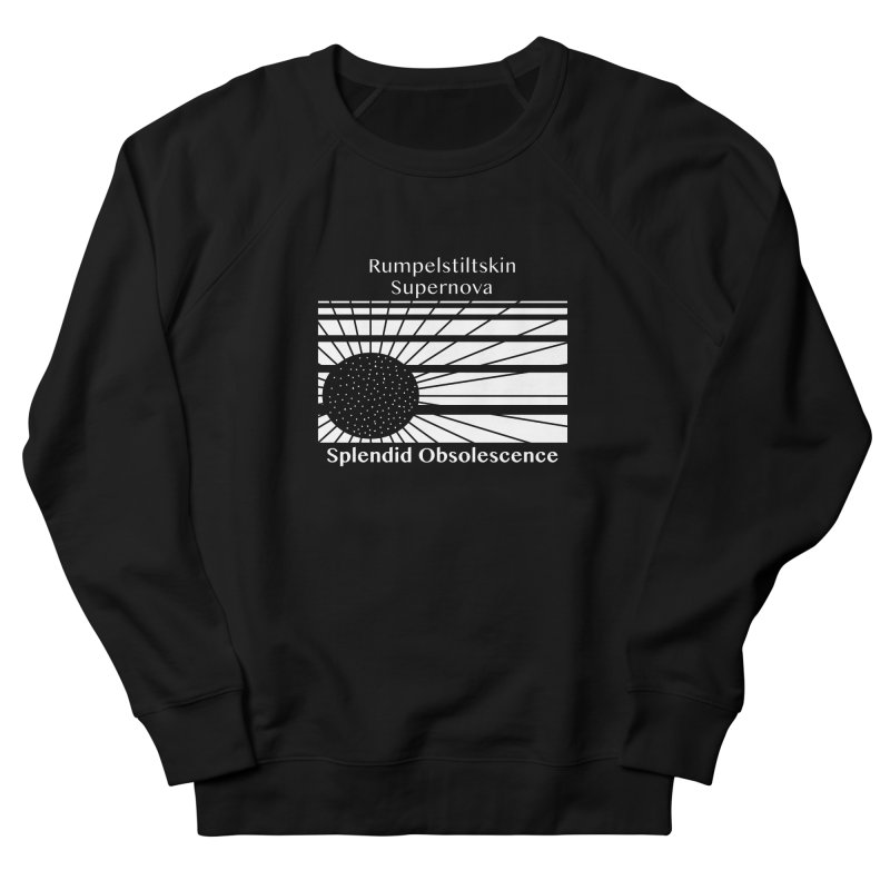 Rumpelstiltskin Supernova Album Cover - Splendid Obsolescence Men's Sweatshirt by Splendid Obsolescence