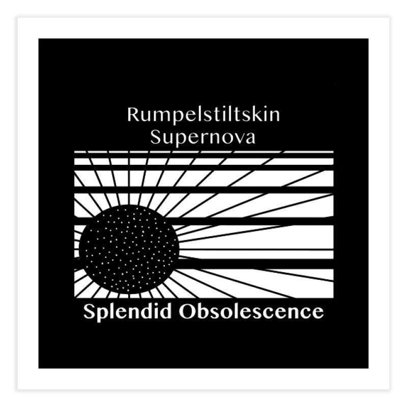Rumpelstiltskin Supernova Album Cover - Splendid Obsolescence Home Fine Art Print by Splendid Obsolescence