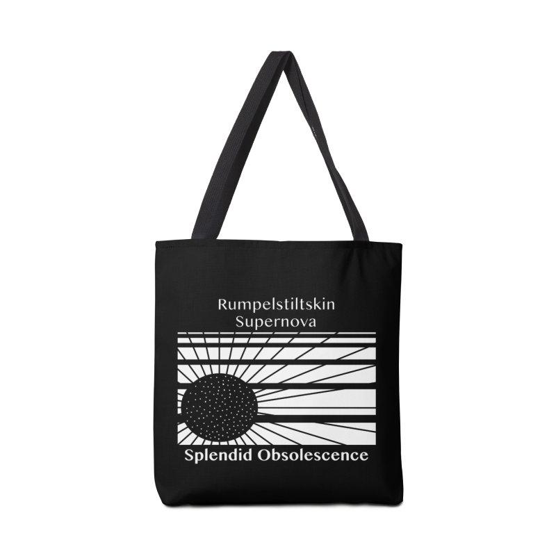 Rumpelstiltskin Supernova Album Cover - Splendid Obsolescence Accessories Bag by Splendid Obsolescence