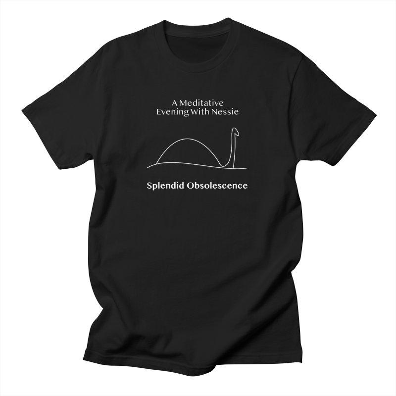 A Meditative Evening With Nessie Album Cover - Splendid Obsolescence Men's T-Shirt by Splendid Obsolescence