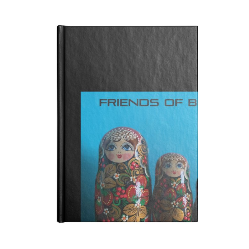 The Nevsky Project Album Cover - Friends of Boris Accessories Notebook by Splendid Obsolescence