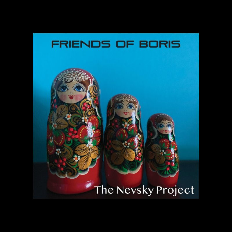 The Nevsky Project Album Cover - Friends of Boris Accessories Greeting Card by Splendid Obsolescence