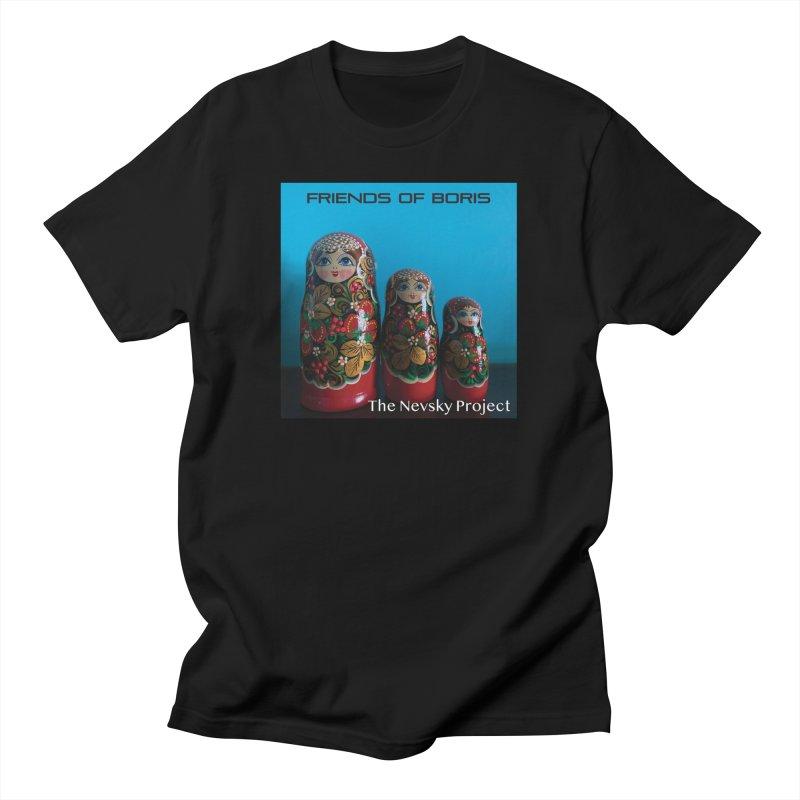 The Nevsky Project Album Cover - Friends of Boris Men's T-Shirt by Splendid Obsolescence