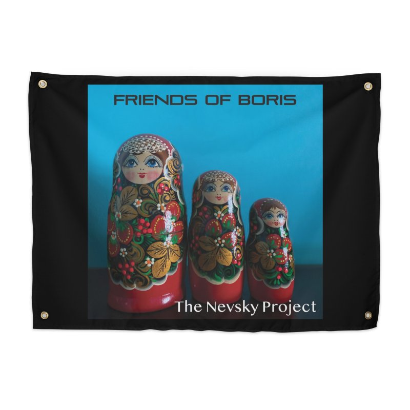 The Nevsky Project Album Cover - Friends of Boris Home Tapestry by Splendid Obsolescence