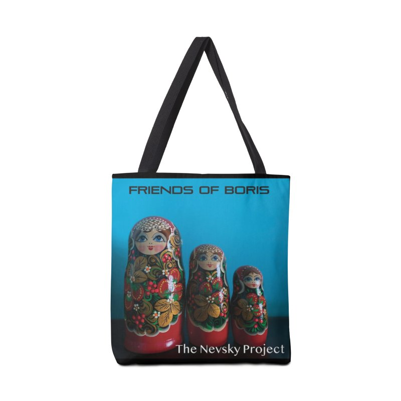 The Nevsky Project Album Cover - Friends of Boris Accessories Bag by Splendid Obsolescence
