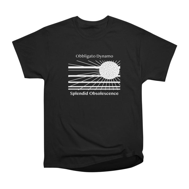 Obbligato Dynamo Album Cover - Splendid Obsolescence Men's T-Shirt by Splendid Obsolescence