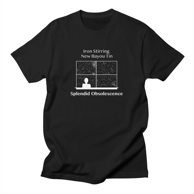 Iron Stirring New Bayou Tin Album Cover - Splendid Obsolescence Men's T-Shirt by Splendid Obsolescence