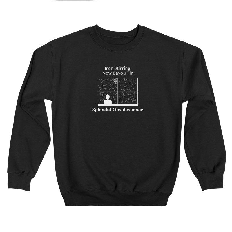 Iron Stirring New Bayou Tin Album Cover - Splendid Obsolescence Men's Sweatshirt by Splendid Obsolescence