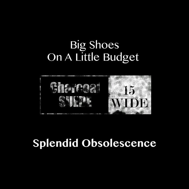 Big Shoes On A Little Budget Album Cover - Splendid Obsolescence by Splendid Obsolescence