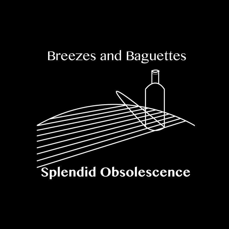 Breezes and Baguettes Album Cover - Splendid Obsolescence Accessories Button by Splendid Obsolescence