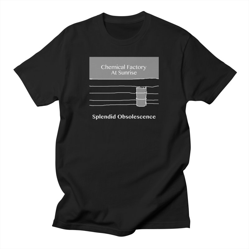 Chemical Factory At Sunrise Album Cover - Splendid Obsolescence Men's T-Shirt by Splendid Obsolescence