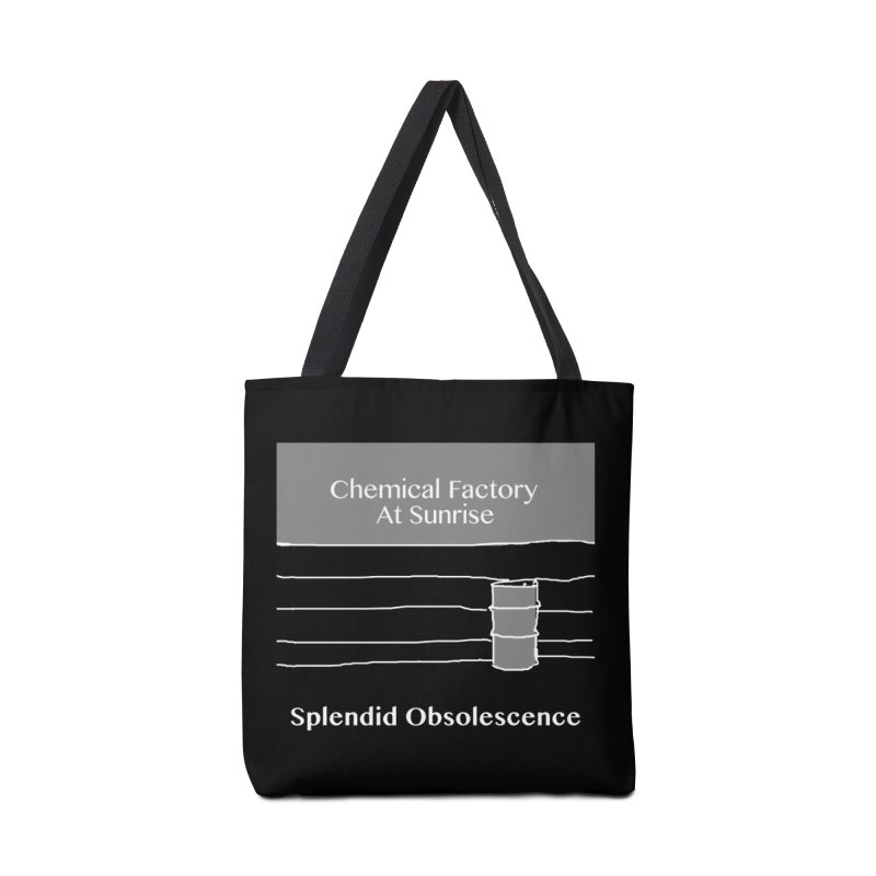 Chemical Factory At Sunrise Album Cover - Splendid Obsolescence Accessories Bag by Splendid Obsolescence