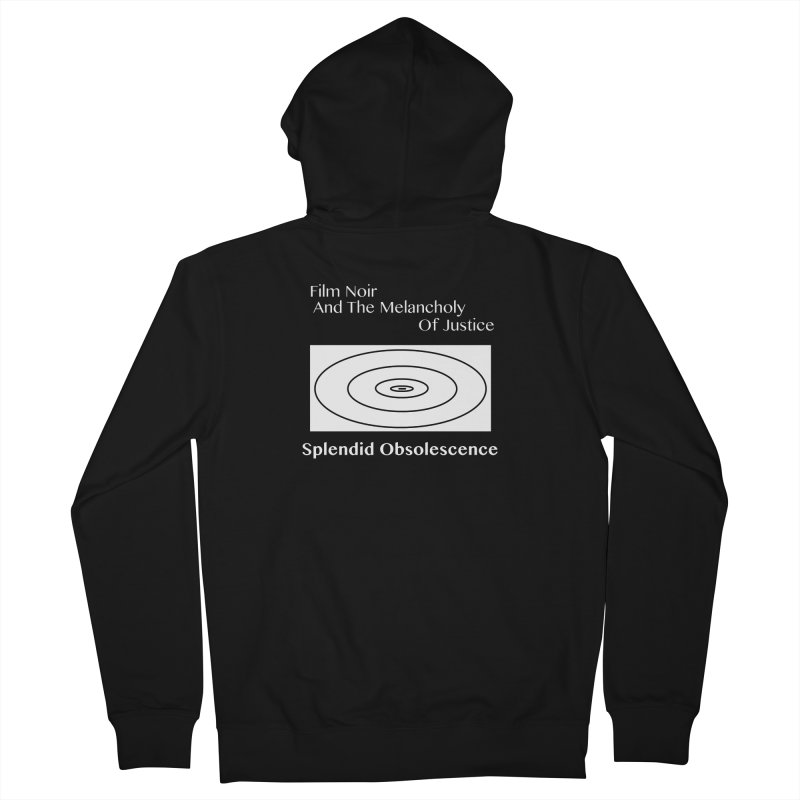Film Noir And The Melancholy of Justice Album Cover - Splendid Obsolescence Women's Zip-Up Hoody by Splendid Obsolescence