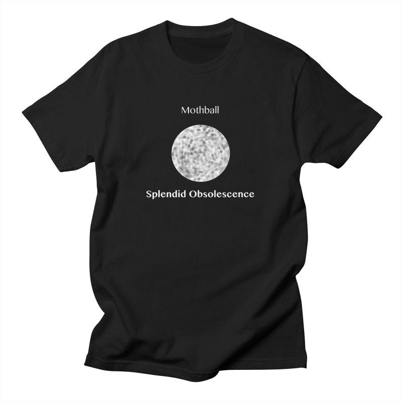 Mothball Album Cover - Splendid Obsolescence Men's T-Shirt by Splendid Obsolescence