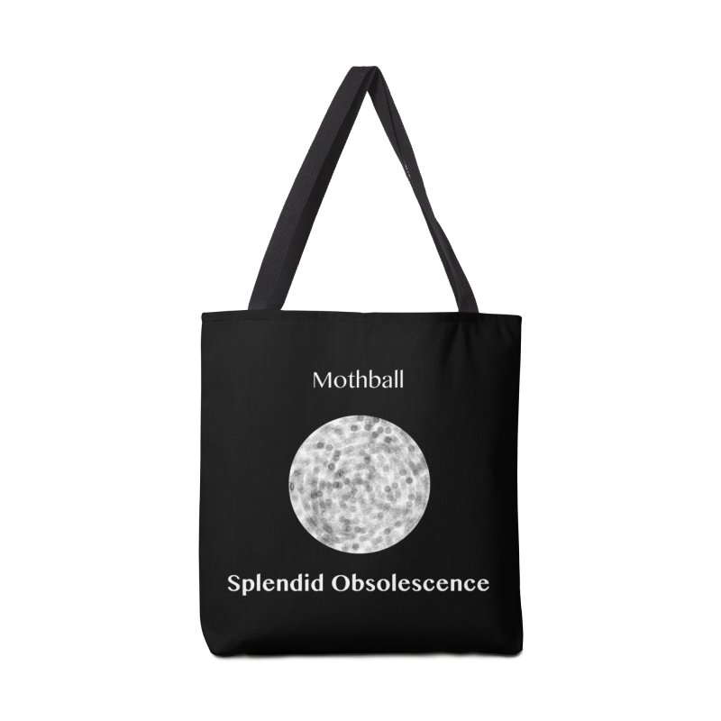 Mothball Album Cover - Splendid Obsolescence Accessories Tote Bag Bag by Splendid Obsolescence