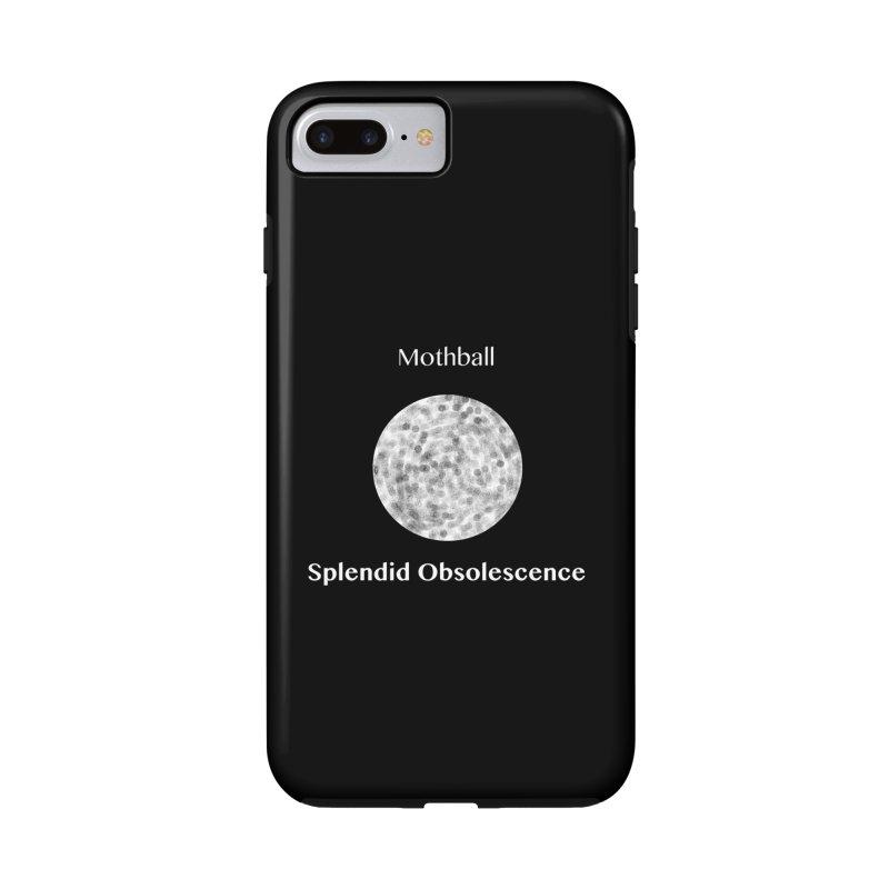 Mothball Album Cover - Splendid Obsolescence Accessories Phone Case by Splendid Obsolescence