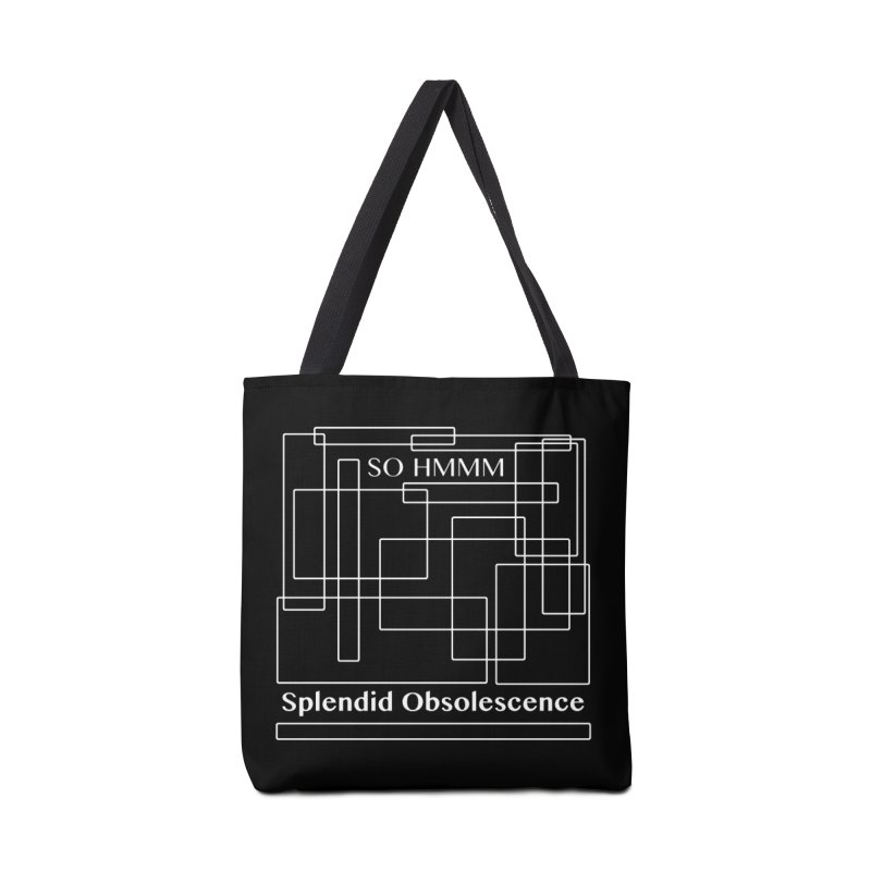 SO HMMM Album Cover - Splendid Obsolescence Accessories Bag by Splendid Obsolescence