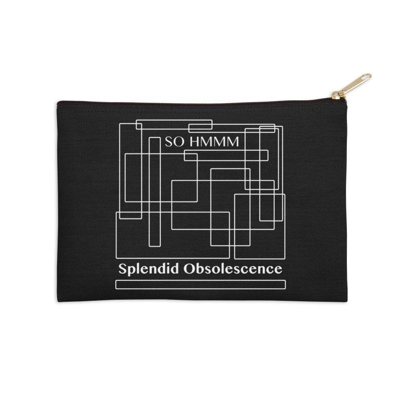 SO HMMM Album Cover - Splendid Obsolescence Accessories Zip Pouch by Splendid Obsolescence