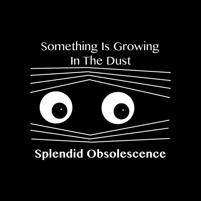 Something Is Growing In The Dust Album Cover - Splendid Obsolescence Accessories Greeting Card by Splendid Obsolescence