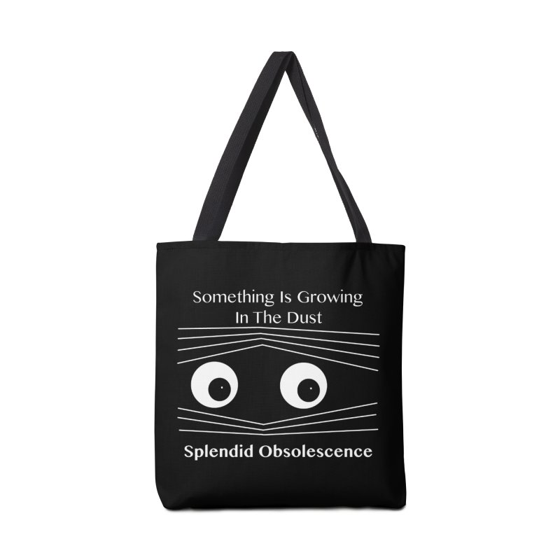 Something Is Growing In The Dust Album Cover - Splendid Obsolescence Accessories Bag by Splendid Obsolescence
