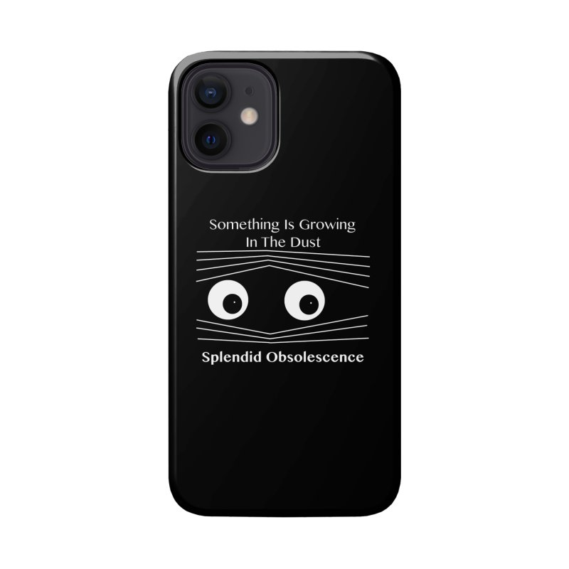 Something Is Growing In The Dust Album Cover - Splendid Obsolescence Accessories Phone Case by Splendid Obsolescence