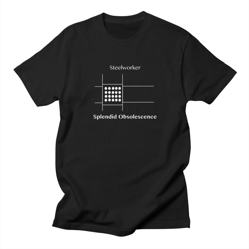 Steelworker Album Cover - Splendid Obsolescence Men's Regular T-Shirt by Splendid Obsolescence