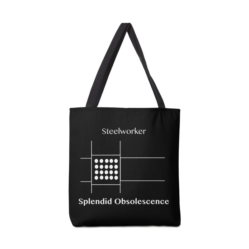 Steelworker Album Cover - Splendid Obsolescence Accessories Tote Bag Bag by Splendid Obsolescence