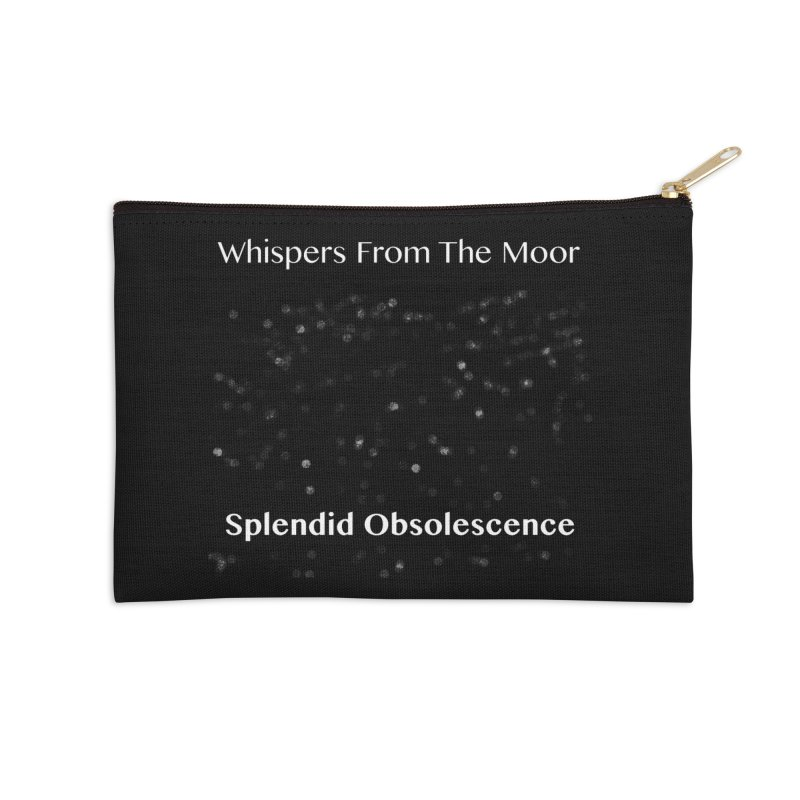 Whispers From The Moor - Splendid Obsolescence Accessories Zip Pouch by Splendid Obsolescence