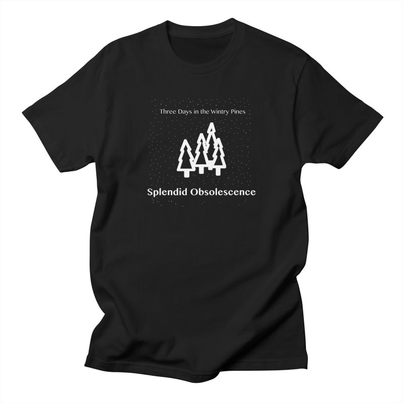Three Days In The Wintry Pines Album Cover - Splendid Obsolescence Men's T-Shirt by Splendid Obsolescence