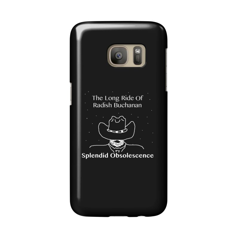 The Long Ride of Radish Buchanan Album Cover - Splendid Obsolescence Accessories Phone Case by Splendid Obsolescence