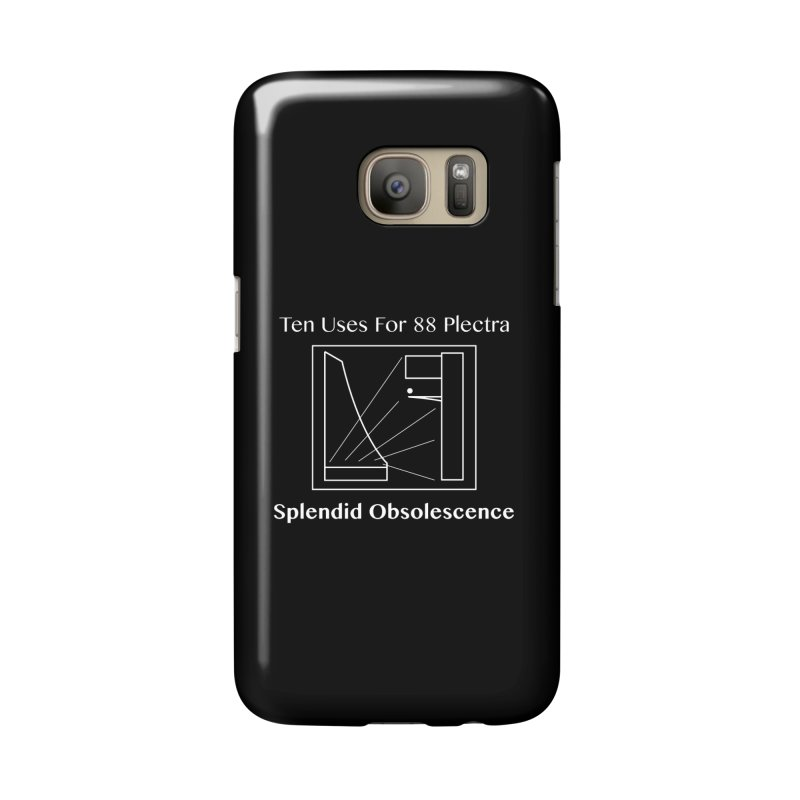 Ten Uses for 88 Plectra Album Cover - Splendid Obsolescence Accessories Phone Case by Splendid Obsolescence