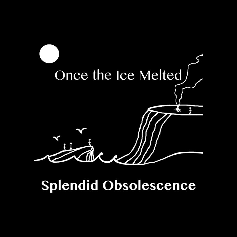 Once the Ice Melted Album Cover - Splendid Obsolescence Men's T-Shirt by Splendid Obsolescence