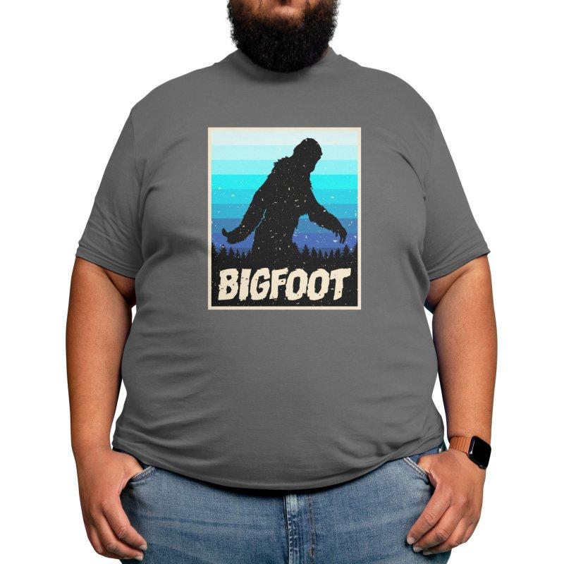 colorful bigfoot Men's T-Shirt by spoilerinc's Artist Shop