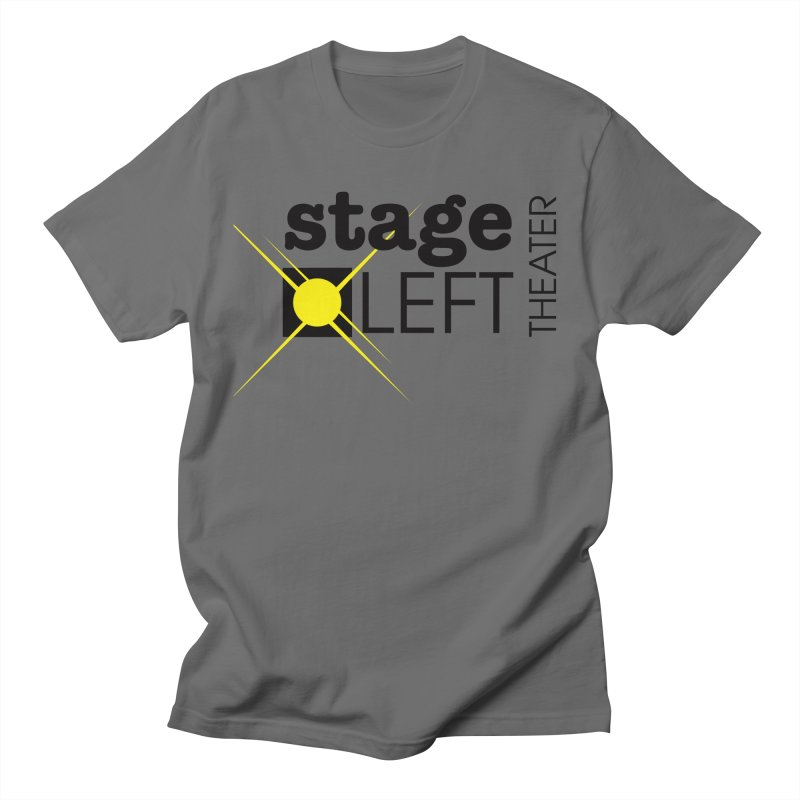 Classic Logo Men's T-Shirt by Stage Left Theater Swag Shop