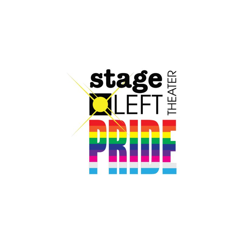 PRIDE Logo Men's T-Shirt by Stage Left Theater Swag Shop