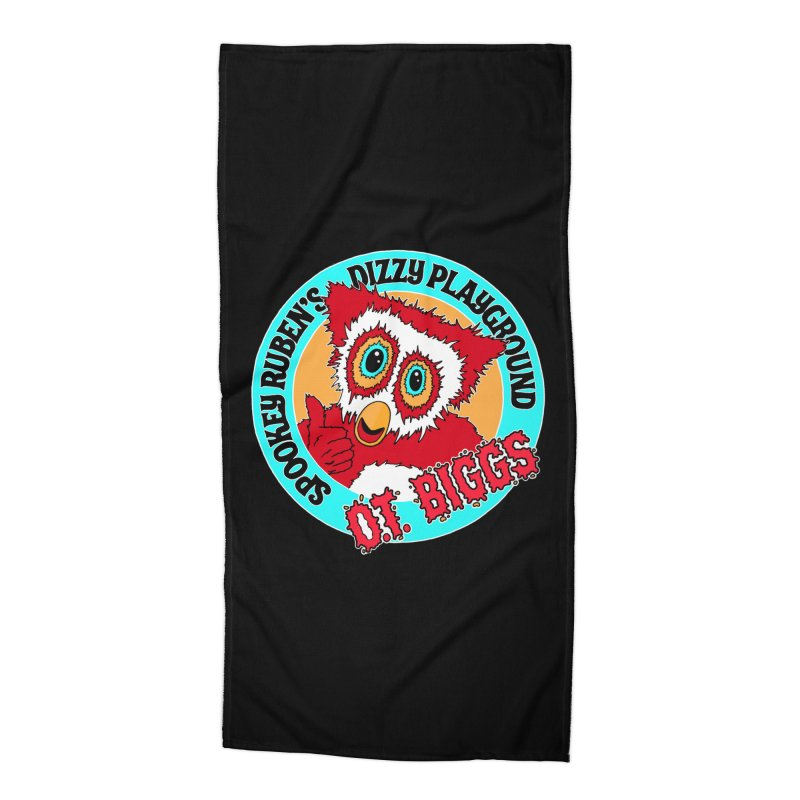 O.T. Biggs Accessories Beach Towel by Spookey Ruben Clothing Store