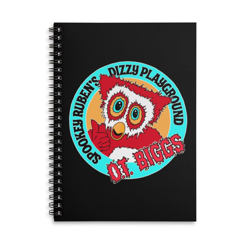 O.T. Biggs Accessories Notebook by Spookey Ruben Clothing Store