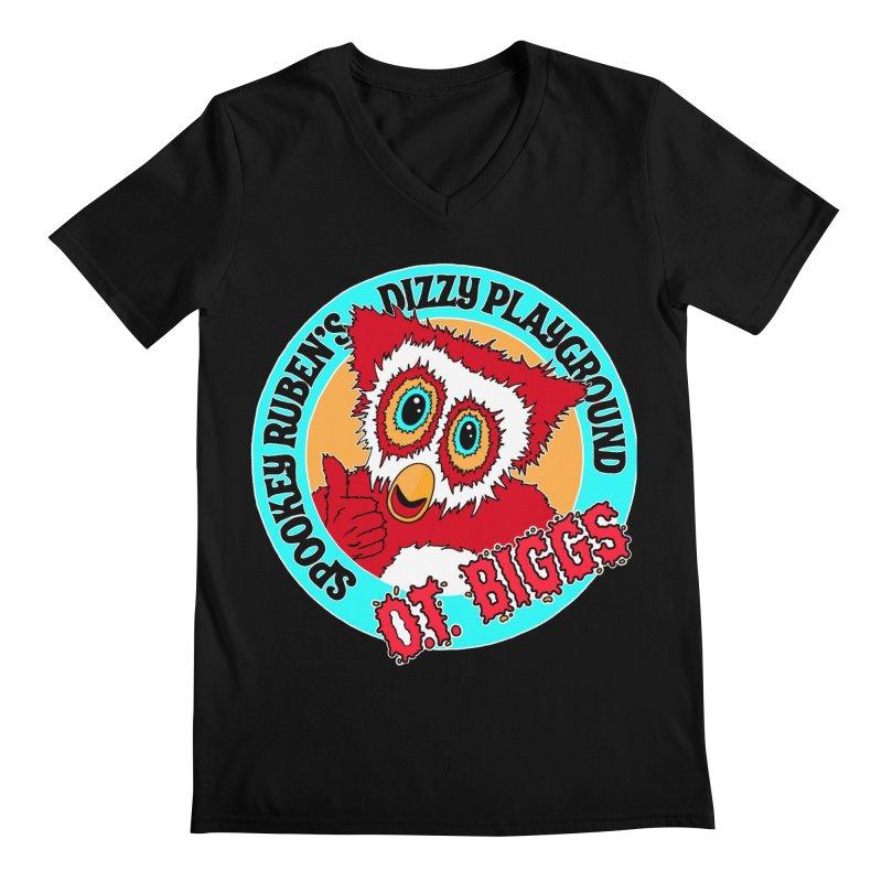 O.T. Biggs Men's V-Neck by Spookey Ruben Clothing Store