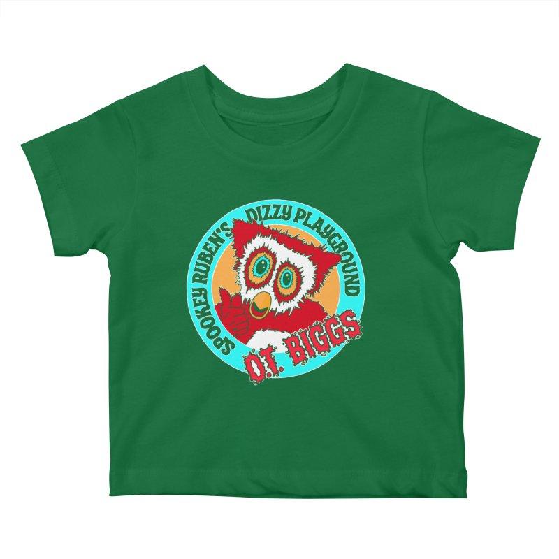 O.T. Biggs Kids Baby T-Shirt by Spookey Ruben Clothing Store
