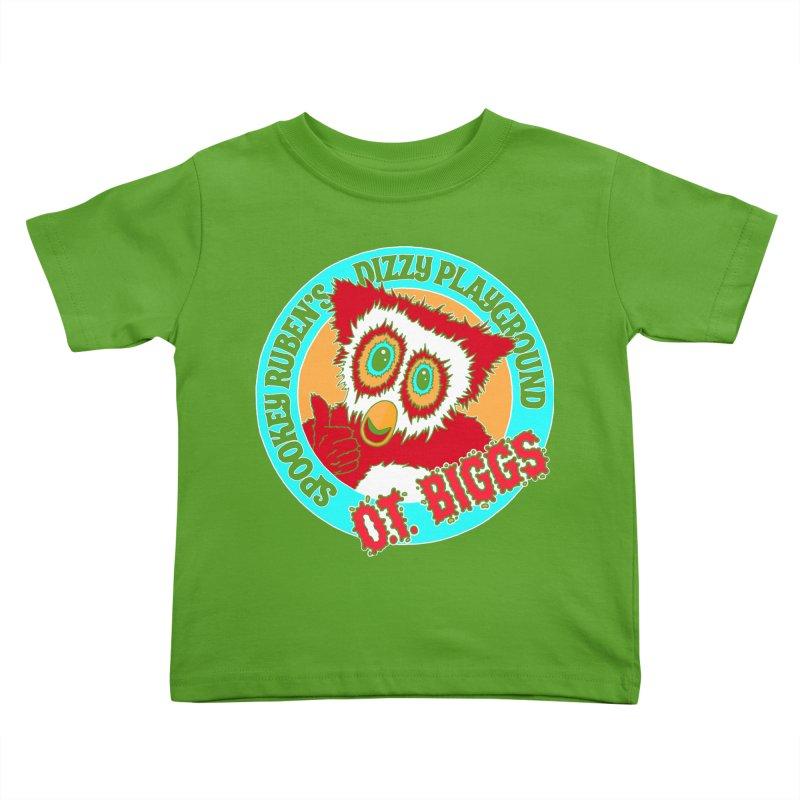 O.T. Biggs Kids Toddler T-Shirt by Spookey Ruben Clothing Store