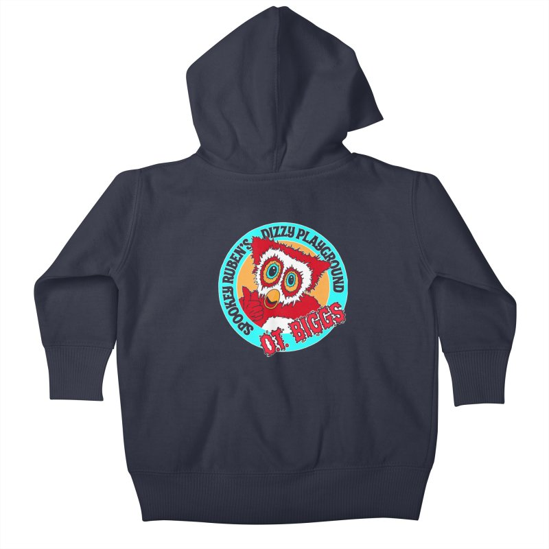 O.T. Biggs Kids Baby Zip-Up Hoody by Spookey Ruben Clothing Store