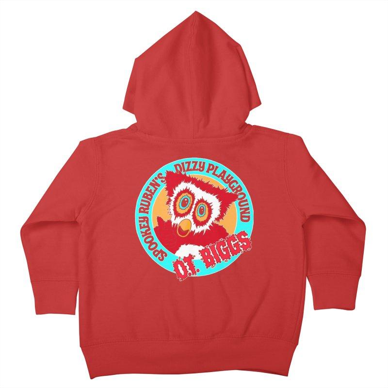 O.T. Biggs Kids Toddler Zip-Up Hoody by Spookey Ruben Clothing Store