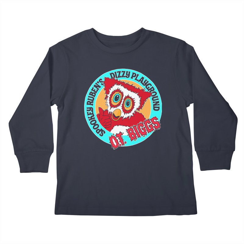 O.T. Biggs Kids Longsleeve T-Shirt by Spookey Ruben Clothing Store