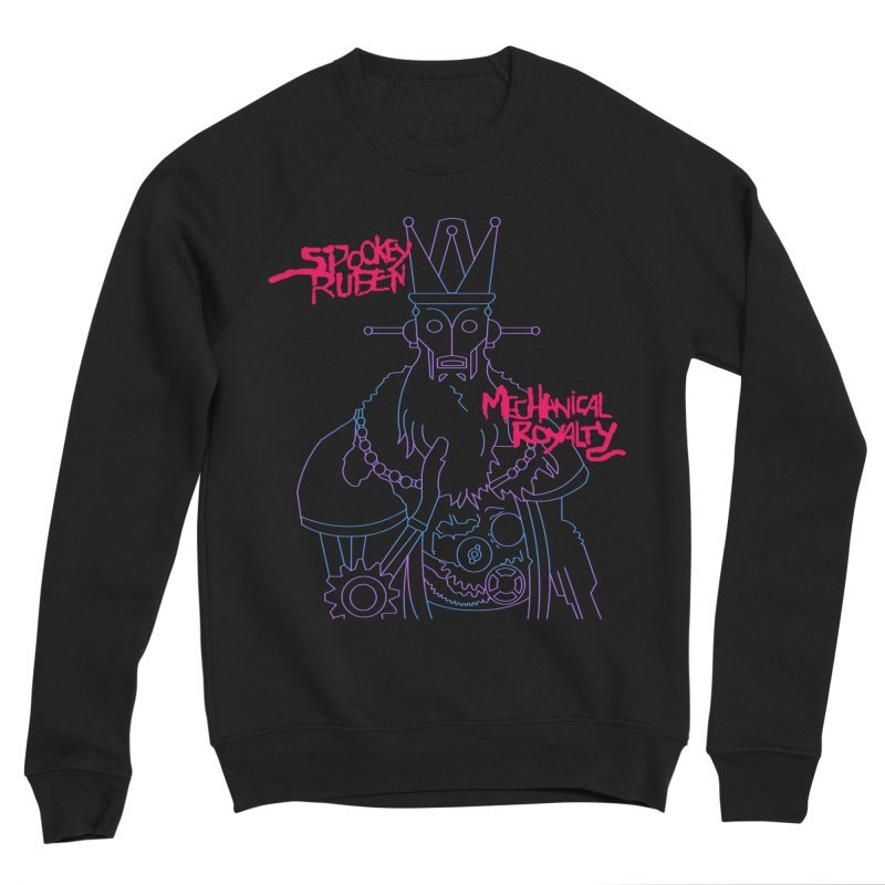 MECHANICAL ROYALTY Men's Sweatshirt by Spookey Ruben Clothing Store